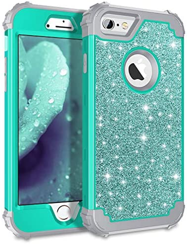 Pandawell Compatible Glitter Shockproof Protective