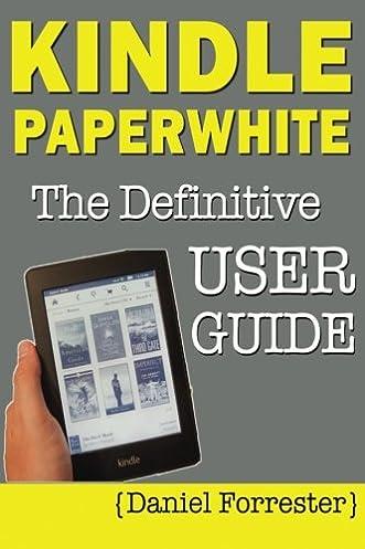 user guide kindle paperwhite 7th generation good owner guide website u2022 rh hash ocean co Kindle Fire User Guide Kindle User Guide 1st Edition