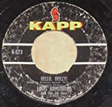 hello, dolly 45 rpm single