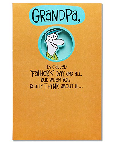 American Greetings Promoted Father's Day Card for Grandpa with Foil (5873425)