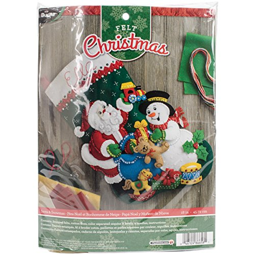 Stocking Kit Snowman - 2