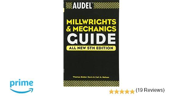 audel millwrights and mechanics guide thomas b davis carl a rh amazon ca SAP Manual Reference Reference Manual Clip Art