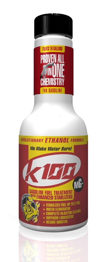 K100 MG Gasoline Treatment with Stabilizer - 12/8 oz. case by K100