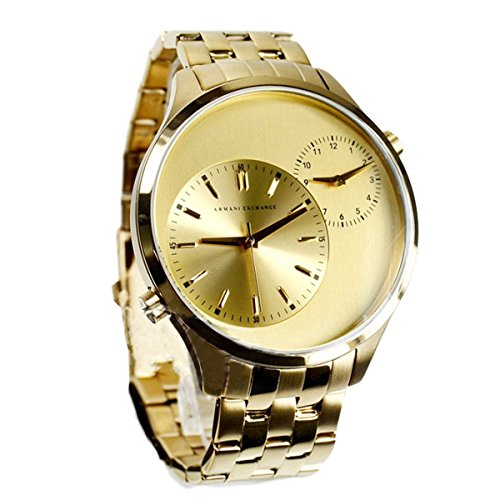 Armani Exchange Men's AX2176  Gold  - Armani Exchange Online