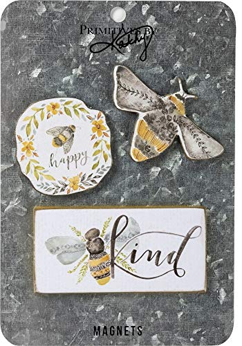 - Primitives By Kathy Bees Set of 3 Magnet
