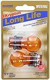 Wagner Lighting BP3757NALL Long Life Natural Amber Miniature Bulb - Card of 2