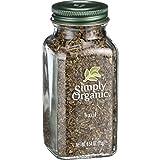 Simply Organic Basil Leaf - Organic - Sweet .54 oz - 95%+ Organic -