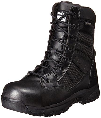 Scarponcino Da Militare E Tattico Nero Militare Da 9 Pollici Della Metro Da Donna Originale Dello Swat