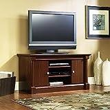 tv stand cherry wood - Sauder Palladia Panel TV Stand, Select Cherry Finish