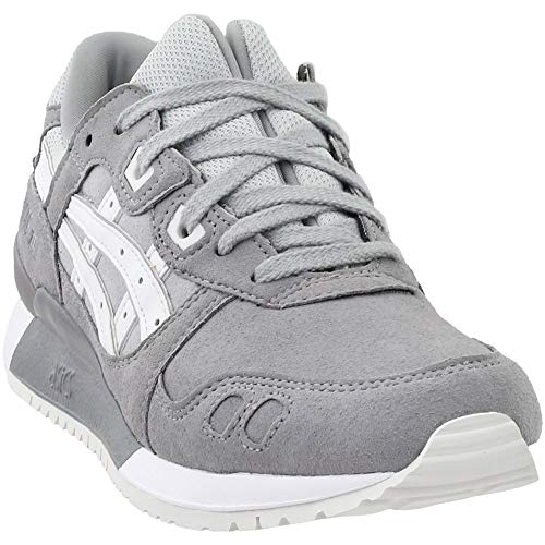 f597662a8bf ASICS Tiger Men's Gel-Lyte Iii Aluminum/White Ankle-High Fashion Sneaker -