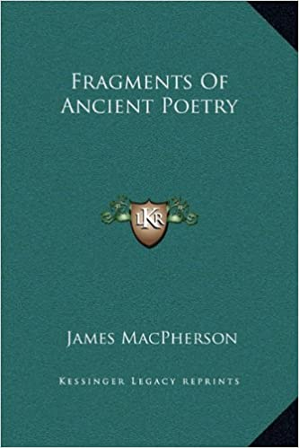Book Fragments Of Ancient Poetry