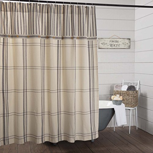 - Piper Classics Market Place Shower Curtain, 72