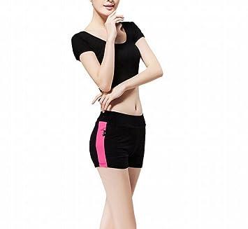 CWJ Sport Yoga Wear Modal Set Sport Vest Shorts Ropa ...