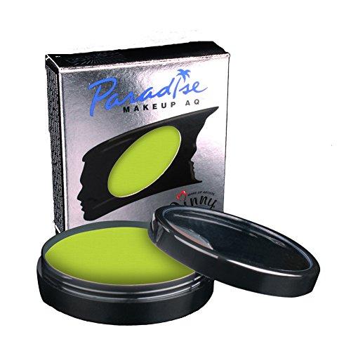 Loftus International Mehron Makeup Paradise AQ Face & Body Paint, Lime: Tropical Series - 40Gm Novelty Item ()
