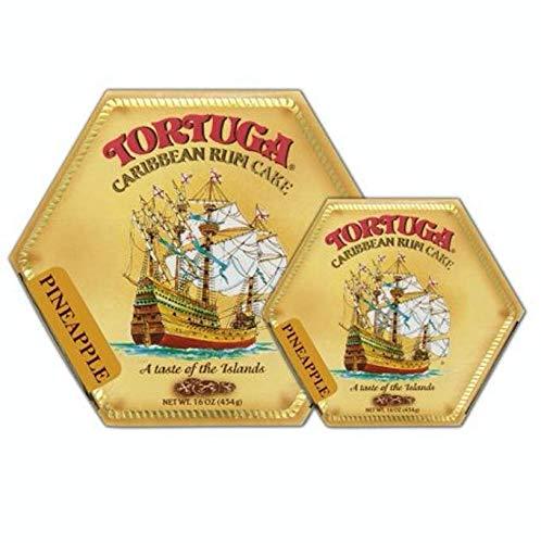 Tortuga Pineapple Rum Cake 16oz (2-Pack) -
