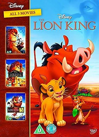 The Lion King 1-3 Boxset (Spain - Importation) (The Lion King Dvd Spanish)