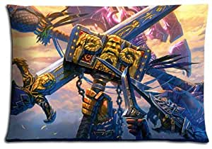 """16x24 16""""x24"""" 40x60cm home pillow covers case Cotton + Polyester Durable anti-microbial World of Warcraft"""