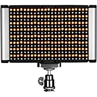 Neewer LED Video Light - Dimmable Bi-color LED Panel with Standard Cold Shoe for DSLR Cameras,280 LED Beads,3200-5600K,CRI 95+ (Battery NOT Included)