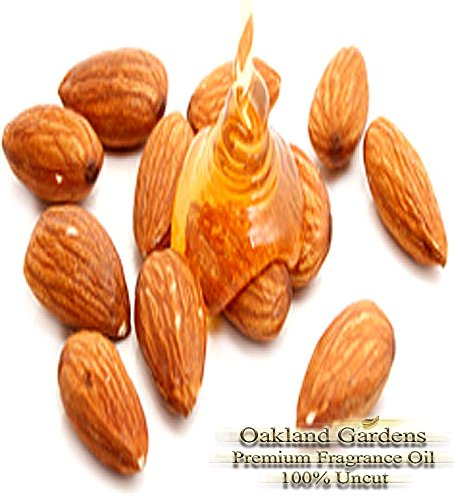 Fragrance Oil - Almond & Honey Fragrance Oil - Used for SPRAY MIST SOAP CANDLE Making - Classic mix of almond with warm honey - Fragrance Oil By Oakland Gardens ()