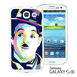 OnlineBestDigitalTM - Celebrity Star Hard Back Case for Samsung Galaxy S3 III I9300 - Chaplin Artwork
