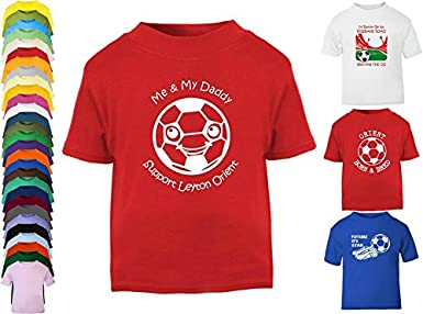 Hat-Trick Designs Leyton Orient Football Baby Childrens T-Shirt Top-Red-Future Star-Unisex Gift