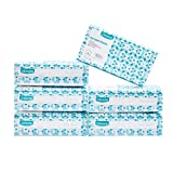 #9: Dimora Large Baby Dry Wipes, 100% Soft Cotton, Open Size 7.8