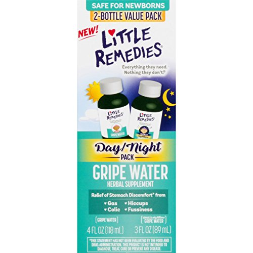 Little Remedies Day & Night Gripe Water Value Pack | Herbal Supplement | 2 Bottles | Gently Relieves Stomach Discomfort from Gas, Colic, and Hiccups | Safe for Newborns by Little Remedies (Image #5)