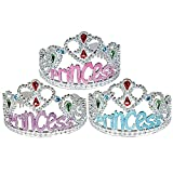 Princess Tiara Crown - Blue