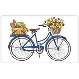 Mary Lake-Thompson - Blue Bike Flour Sack Towel