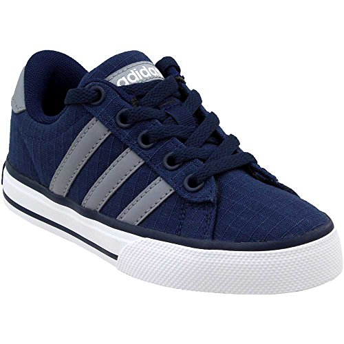 Pictures of adidas NEO SE Daily Vulc K Kids AQ1283 Collegiate Navy/Grey/White 1