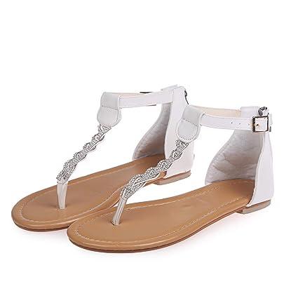41e44c2102419 Amazon.com: Sandals for Women Bummyo Women'S Sandals Flat Sandals ...