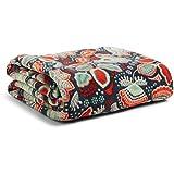 Vera Bradley Women's Throw Blanket Nomadic Floral Blanket One Size
