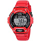 "Casio Men's W-S220C-4AVCF ""Tough Solar"" Digital Sport Watch"