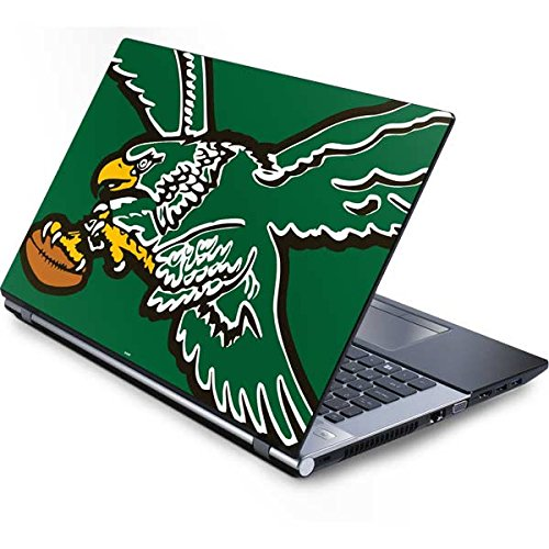(Skinit NFL Philadelphia Eagles Generic 17in Laptop (15.2in X 9.9in) Skin - Philadelphia Eagles Retro Logo Design - Ultra Thin, Lightweight Vinyl Decal Protection)