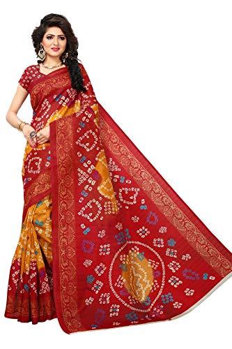 ar Printed Bollywood Saree Indian Ethnic Wedding Designer Bridal Sari ()