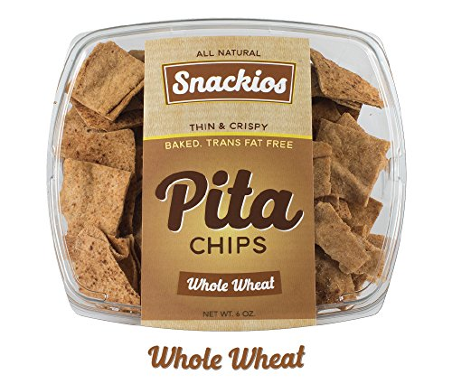 Snackios Pita Chips (Whole Wheat) 4 - Pack