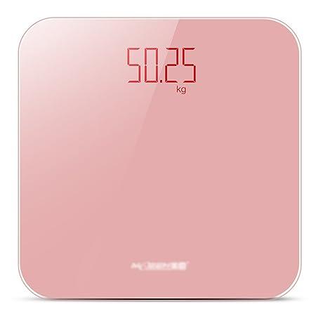DWW-escala de peso Báscula de baño de grasa corporal con vidrio templado USB hogar recargable pérdida de peso corporal precisión de medición de peso ...