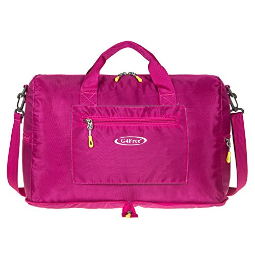 G4Free 16' Foldable Small Duffle Bag Lightweight for Sports Gym Luggage Shopping