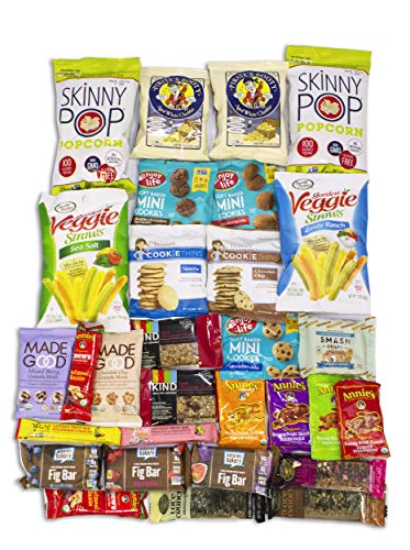 SmartBox Express Gift Box Healthy Value Snack Care Package (Variety 30 pack) -