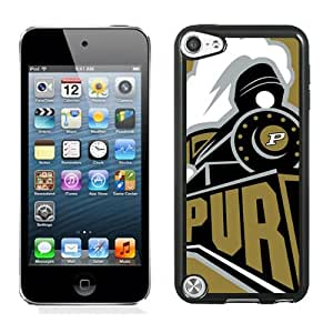 Customized Ipod 5 Case with Ncaa Big Ten Conference Football Purdue Boilermakers 9 Protective Cell Phone Hardshell Cover Case for Ipod 5th Generation Black