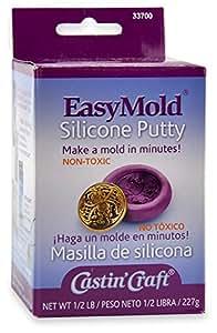 Easy Mold - Masilla de silicona para crear moldes y joyas (226,7 g)