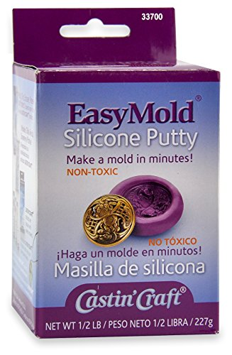(Environmental Technology 1/2-Pound Kit Casting' Craft Easymold Silicone Putty )