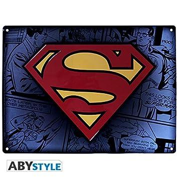 DC Comics Platte Metall Superman: Amazon.de: Spielzeug