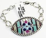 Brighton Wisteria Bead Silver Bracelet