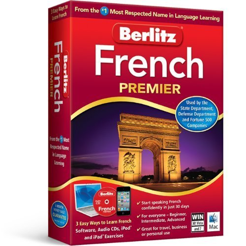Most Software (Berlitz French Premier French Language Software From the #1 Most Respected Name in Language Learning)