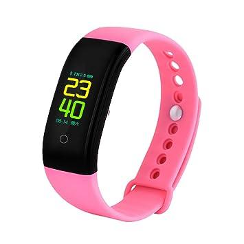 DAN&DLAM V70S Reloj Inteligente Monitor De Frecuencia Cardíaca Presión Arterial Reloj De Alta Definición Carga Rápida ...