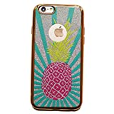 iPhone 6S Case,VIVIPOW [Glitter Series]Pineapple iPhone 6s And iPhone 6,Pineapple phone case for iPhone 6 And 6S 4.7