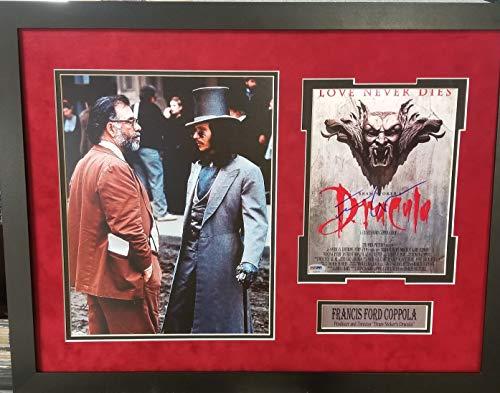 (Francis Ford Coppola Bram Stocker's Dracula Movie Star Signed Autograph Photo Custom Framed 26x20 PSA/DNA Certified)