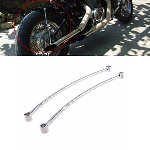 ETbotu Motorcycle Rear Fender Rail Support Bracket Mount Holder Bobber For Motorbike Harley Cruiser