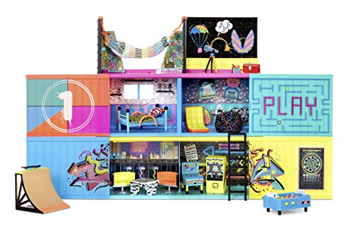 lol surprise clubhouse playset + 40 surprises and 2 exclusives dolls
